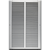 12 X 20 Stamped Steel Return Air Grille - White