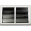 14 X 8 Stamped Steel Return Air Grille - White