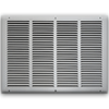 20 X 14 Stamped Steel Return Air Grille - White