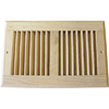 Accord 10 x 6 Unfinished Wood Return Air Grill