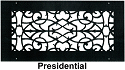 Steel Crest Wall Register Presidential Style