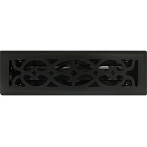 Black Air Vents Register Cover