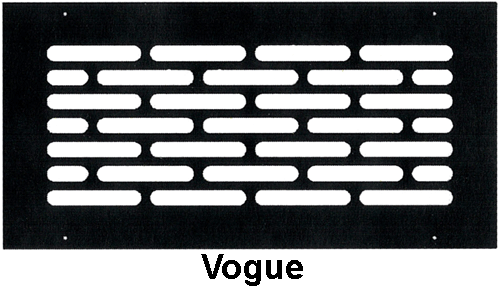 Gold Series Wall Grill Vogue Style